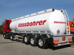 Kassbohrer pótkocsi alkatrészek
